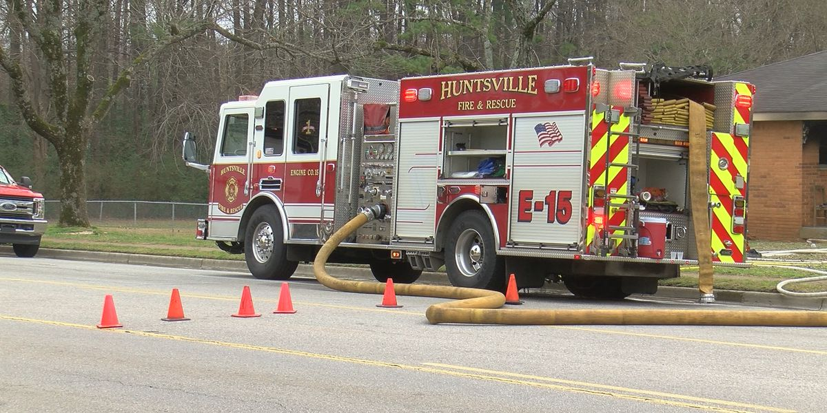 Person seriously injured in Huntsville house fire