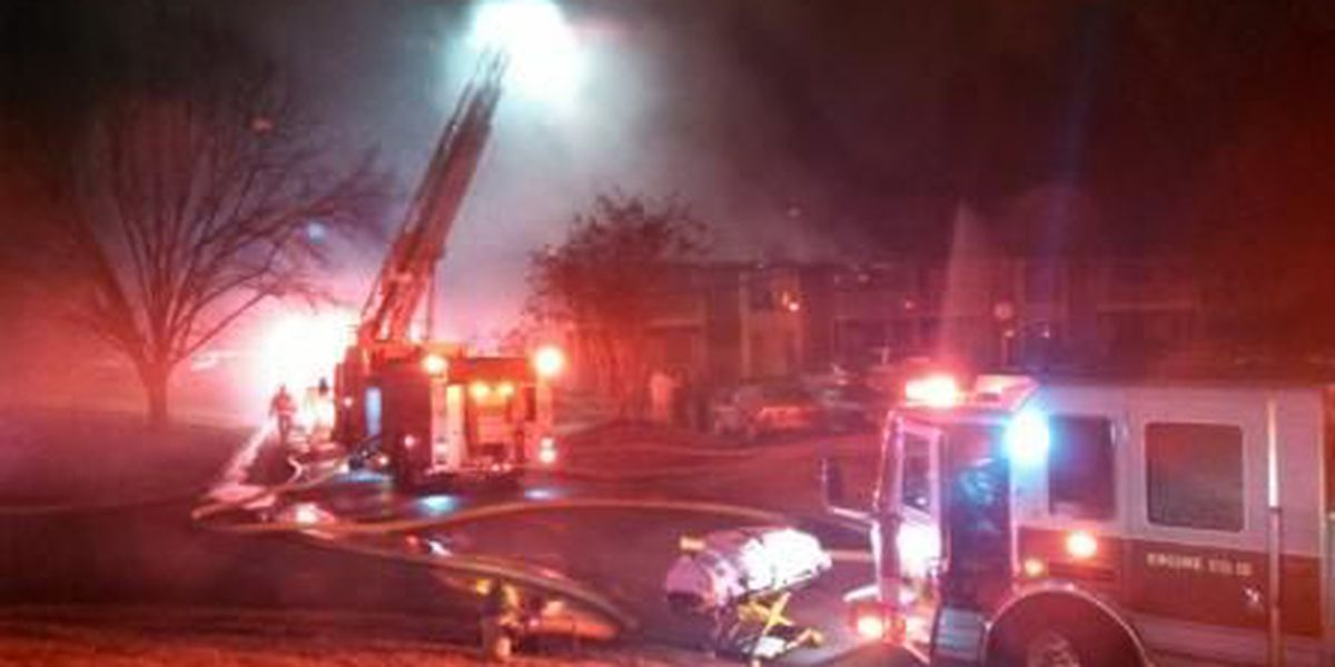 Overnight Huntsville Fire Injures Seven People