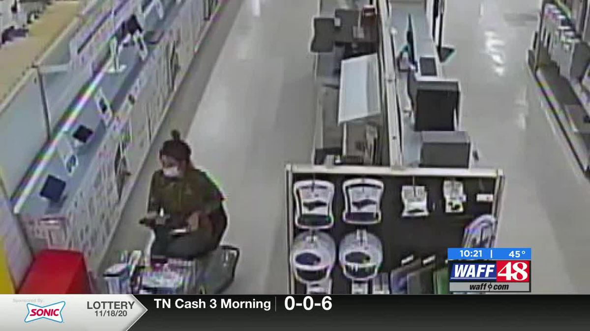 Crime Stoppers: Shop lifter scoots away with Office Depot merchandise