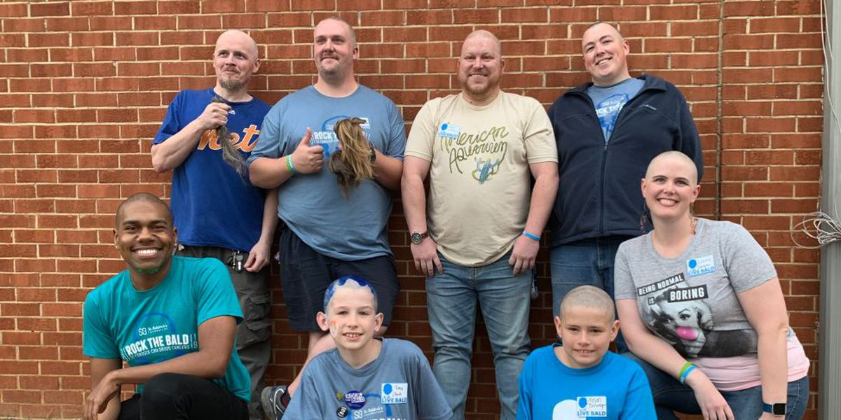 St. Baldrick's raises money with Live Bald 2019