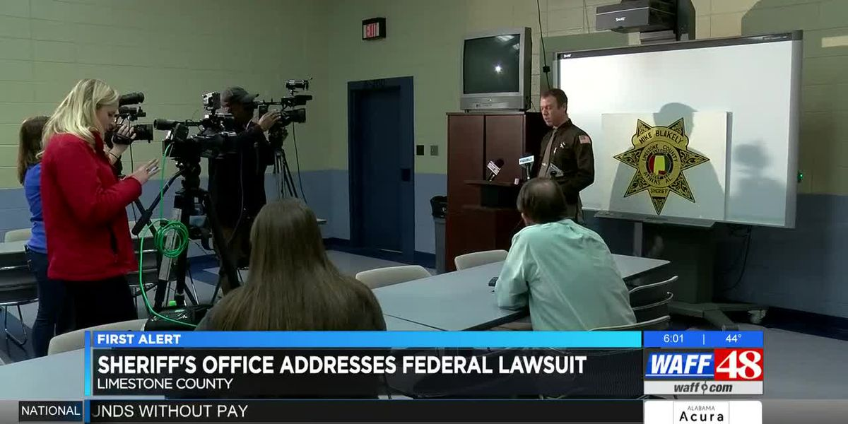 Limestone County Sheriff's Office responds to lawsuit