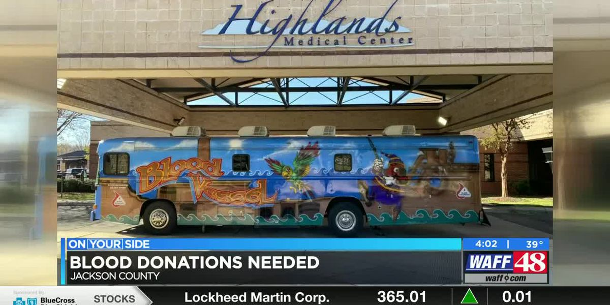 Highlands Medical Center in critical need of blood donations