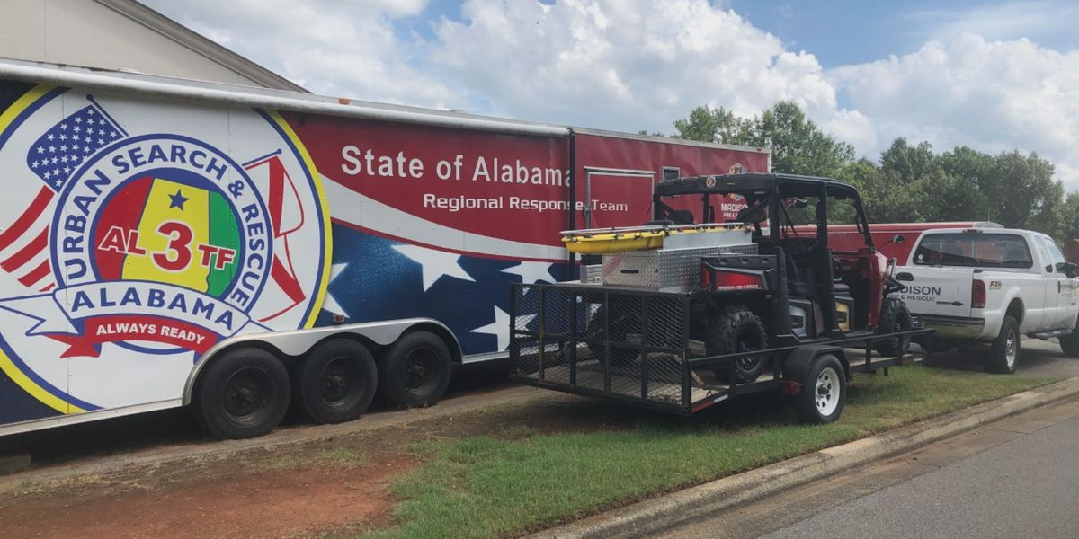 North Alabama first responders on stand by to deploy to Louisiana