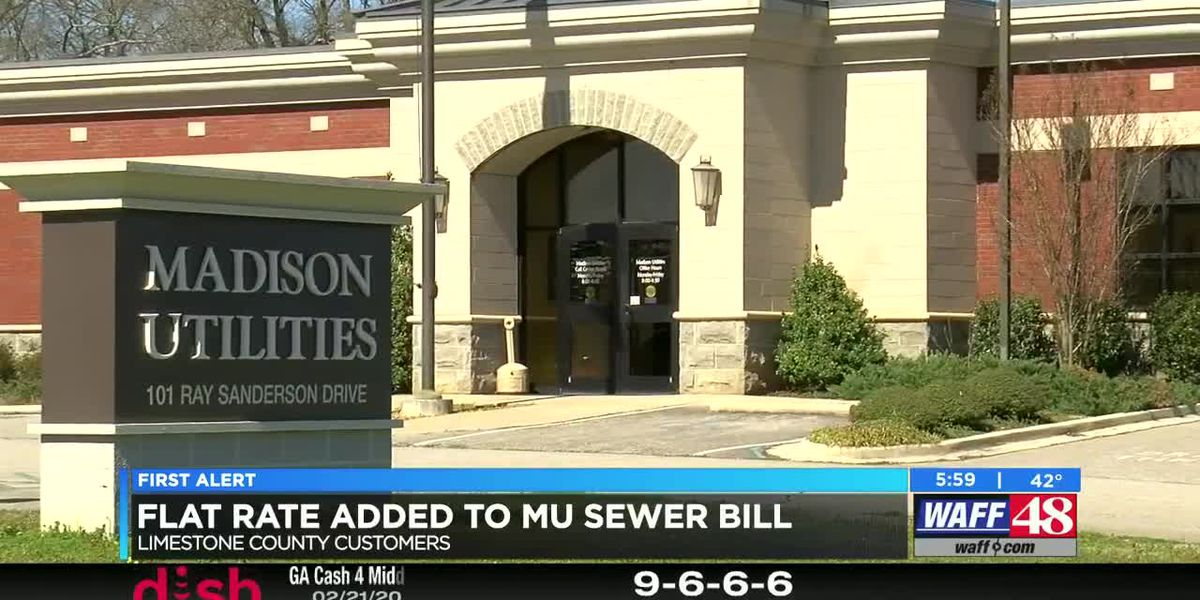 VIDEO: Flat rate issued for some Madison Utilities sewer customers