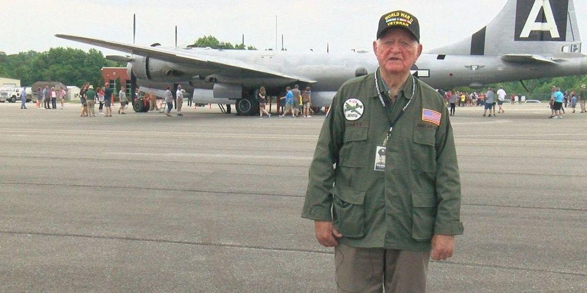 WWII veteran Warren Schmitt has passed away