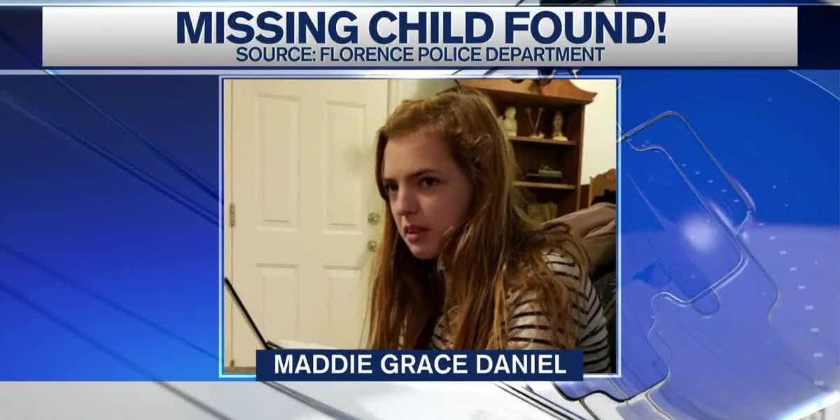 Missing Florence child has been found