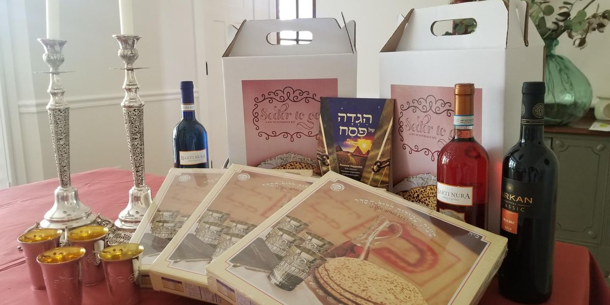 Passover 'to-go' boxes issued to continue social distancing