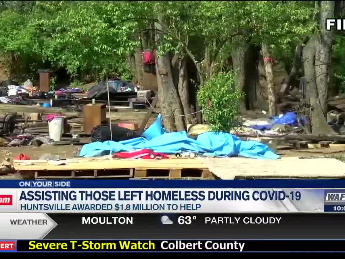 Governor Ivey awards money to help combat homelessness