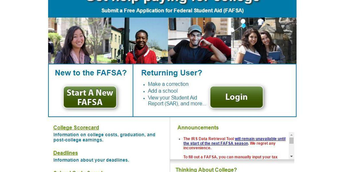 IRS: 100,000 accounts flagged for FAFSA security breach