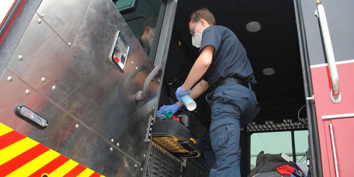 COVID-19 pandemic has taken heavy toll on local police, firefighters