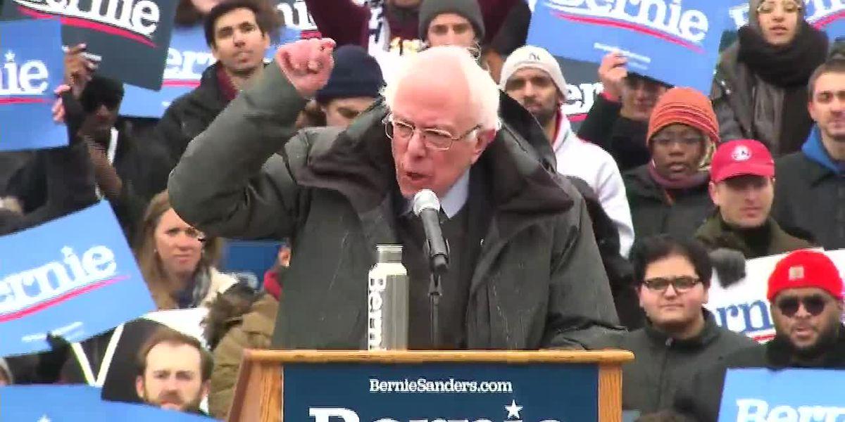 Bernie Sanders holding rally in Birmingham