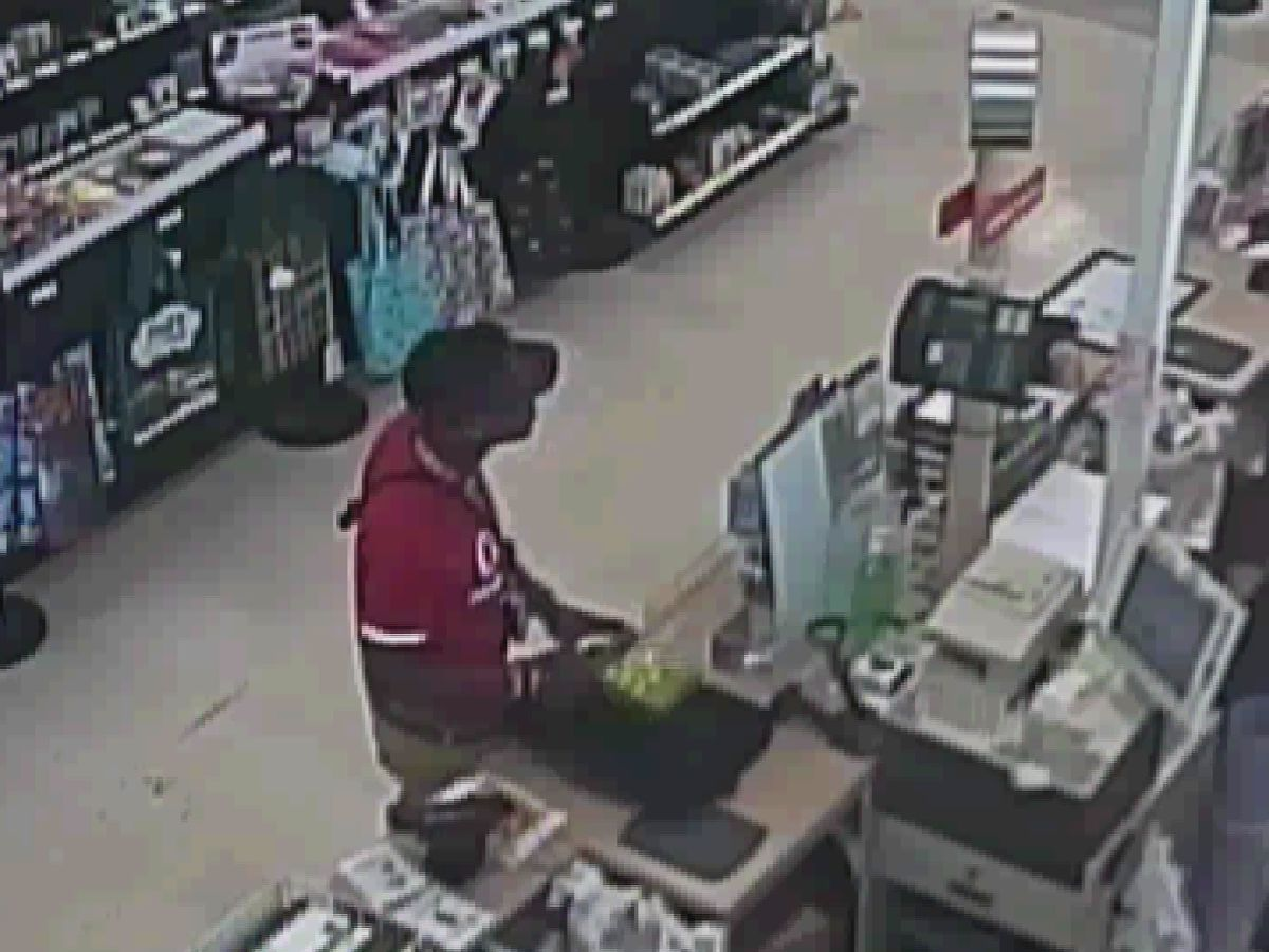 Crime Stoppers: Man runs out of Huntsville store with stolen laptop