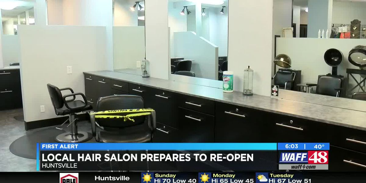 Local hair salons prepare to reopen