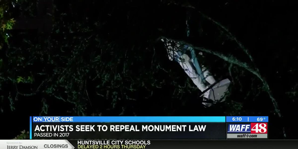 Activists seek to repeal monument law