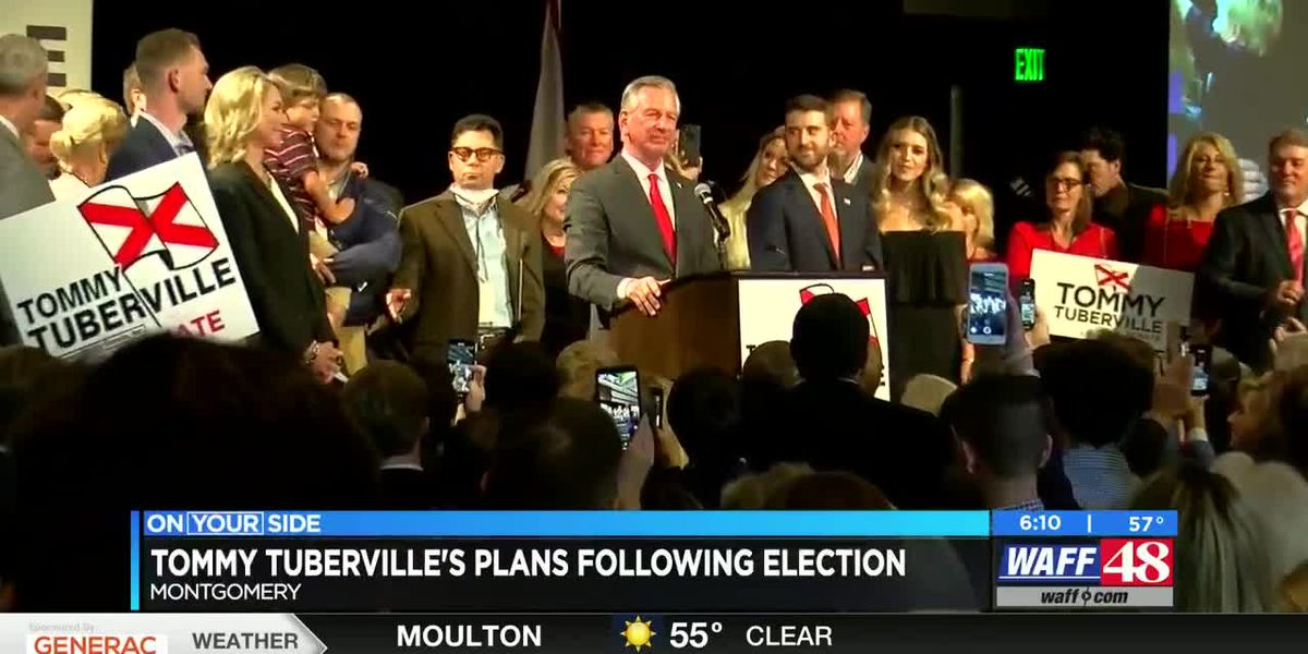 Tommy Tuberville's plans following election win