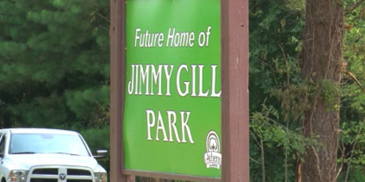 Future Jimmy Gill Park now under construction in Athens