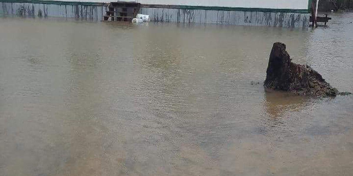 Waters drop in DeKalb County, but concern of new rain lingers