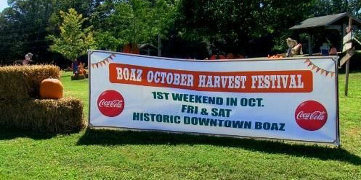 Boaz Harvest Festival begins Friday