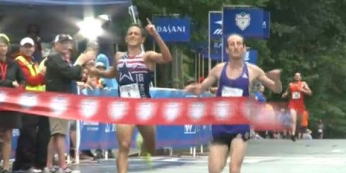 'Photo finish' dashes runner's brief moment of glory
