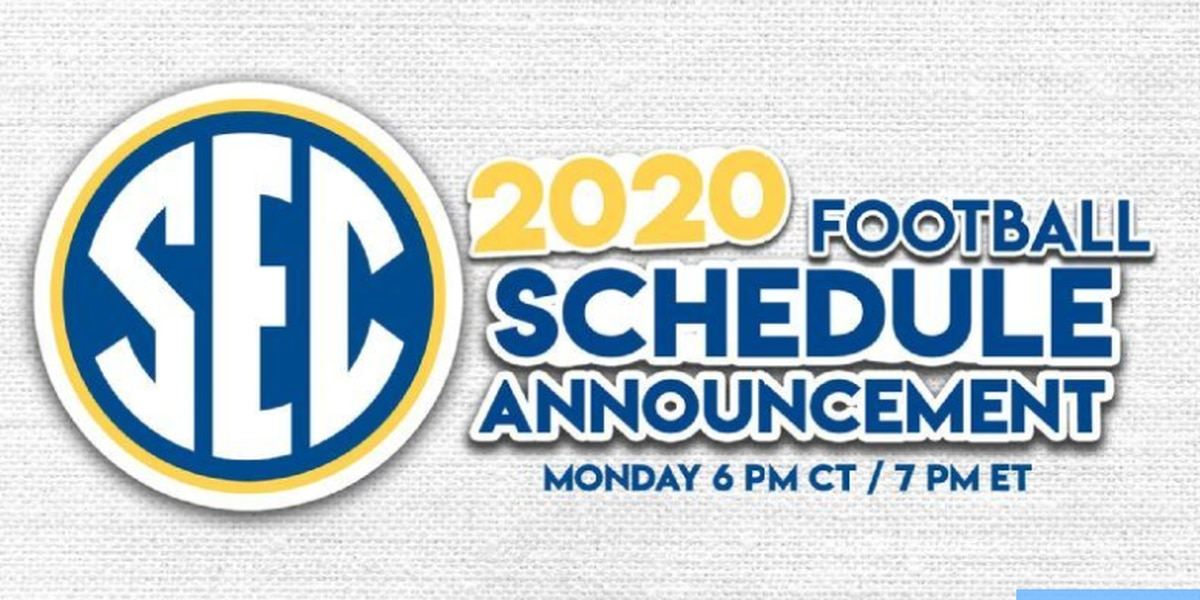 SEC to announce 2020 football schedule Monday