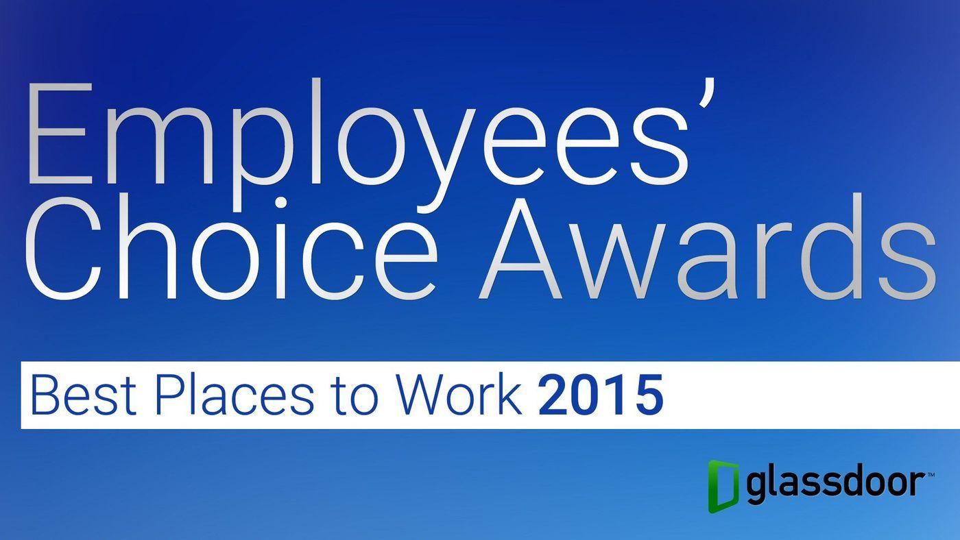 Glassdoor releases 2015 list of 50 best companies to work for