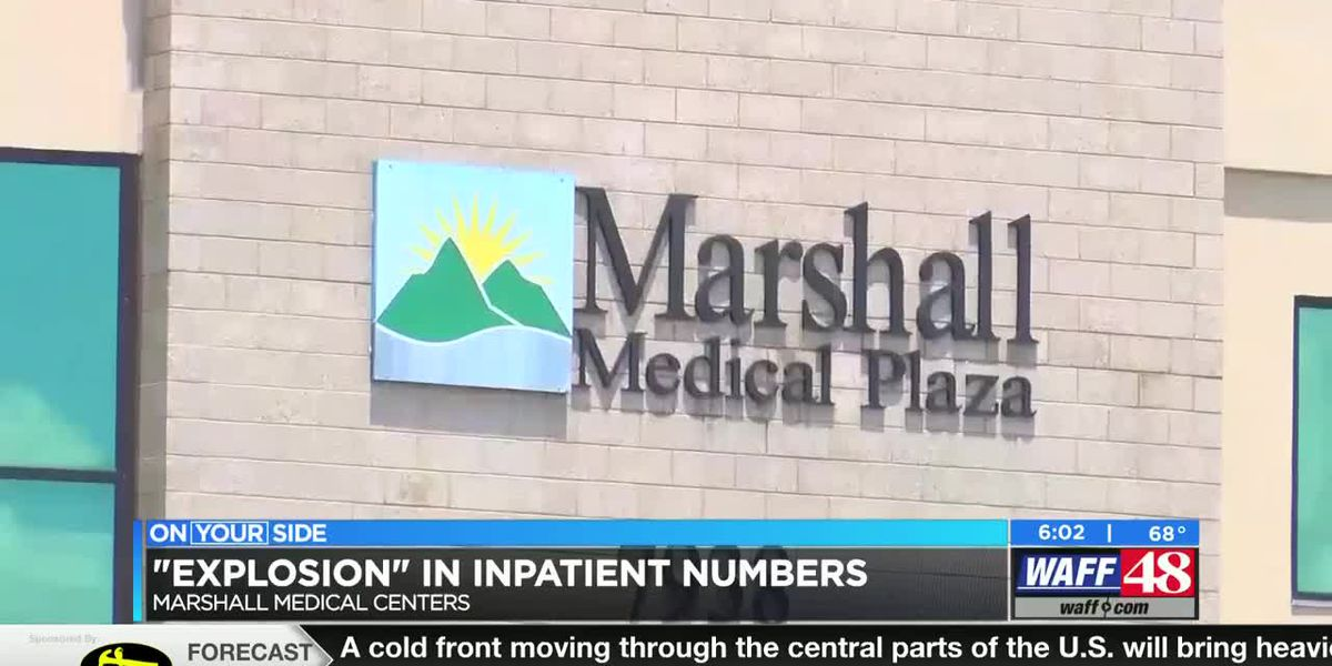 Marshall Medical Center South approaching capacity after weekend surge in patients