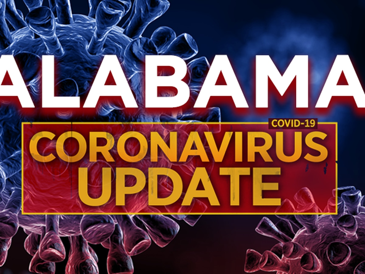 COVID-19 in Alabama: 1,610 new confirmed cases on Sunday
