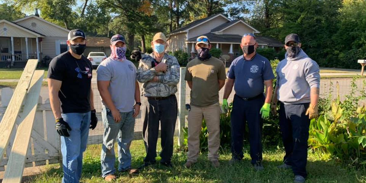 Decatur Police, Fire team up to give back to retired officer