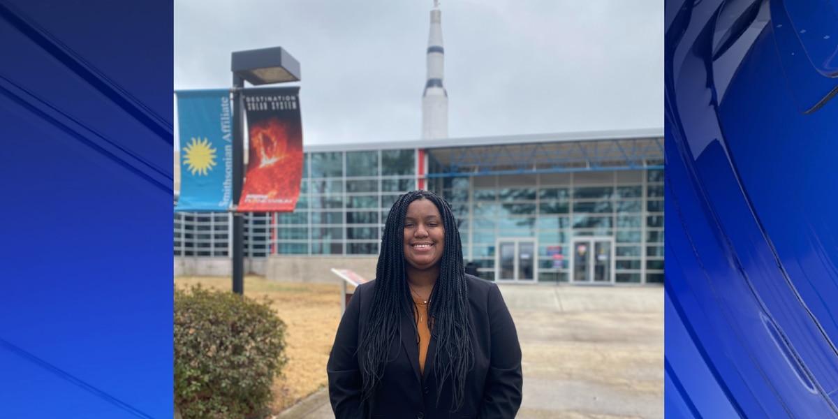 UAH student Megan Jordan selected for inaugural Patti Grace Smith Fellowship