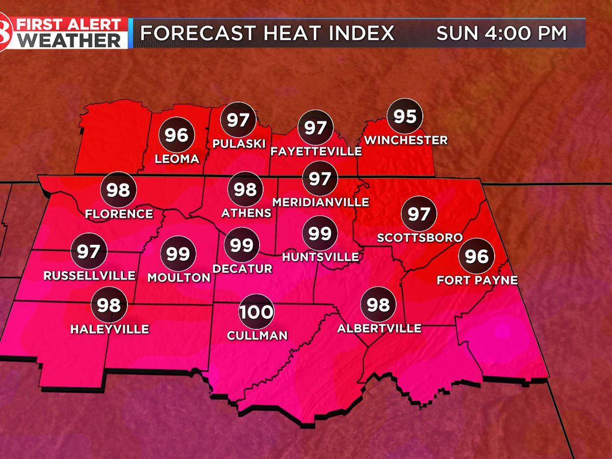 Hot, humid Memorial Day weekend
