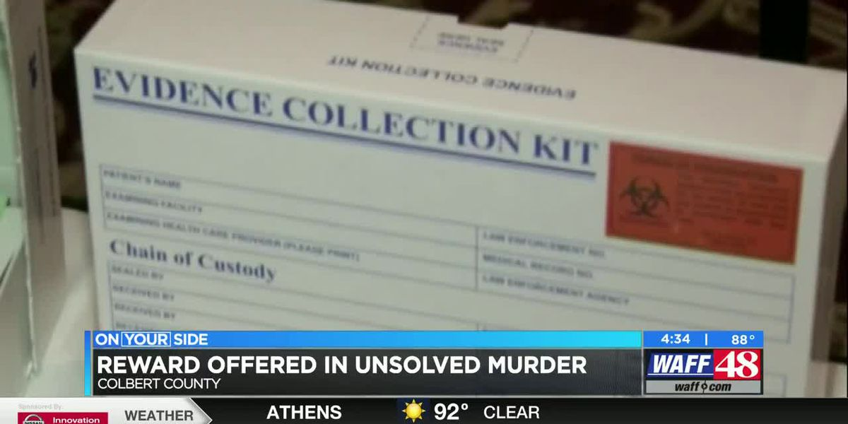 State offers $5K reward in Colbert County murder from 2017
