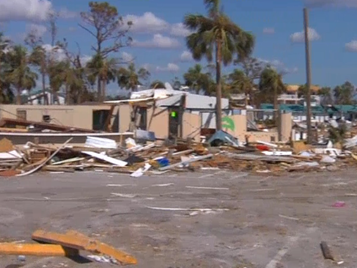 Madison County officials collecting items Hurricane Michael victims