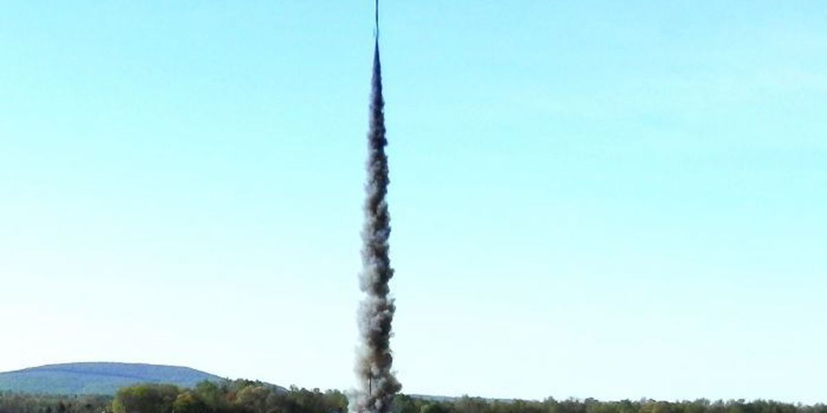Liftoff! Student-built rockets take to the heavens
