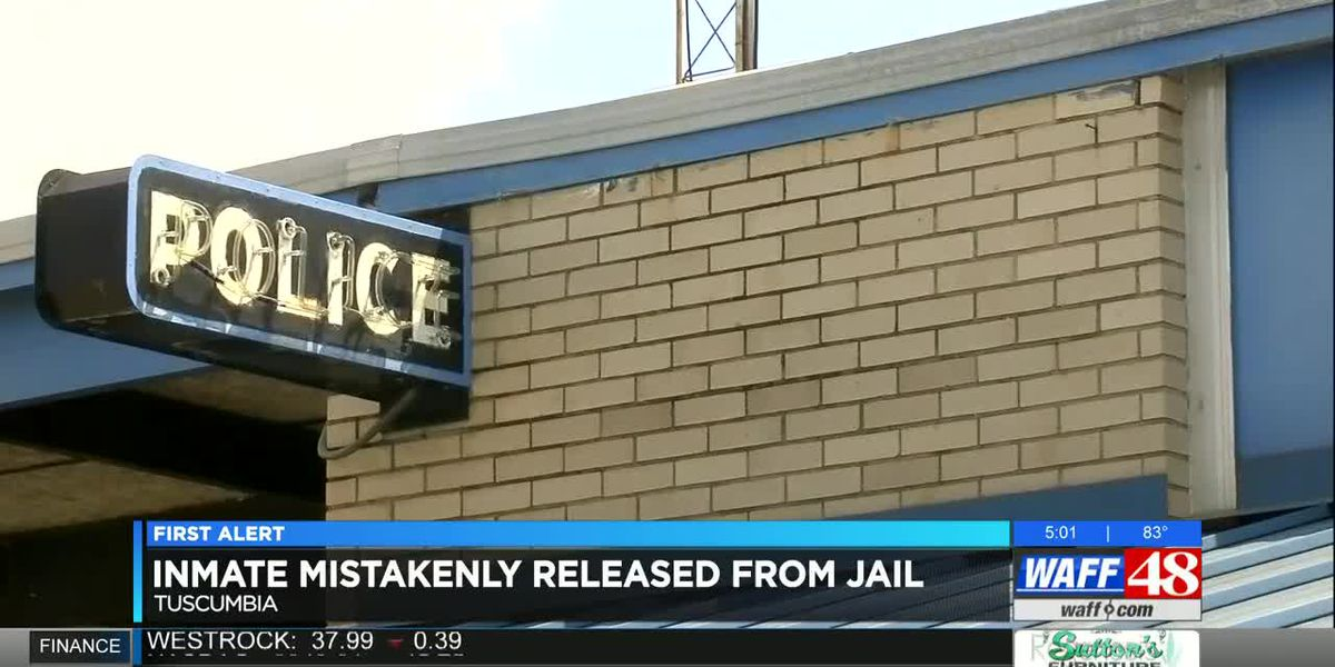 Tuscumbia police release wrong inmate from jail