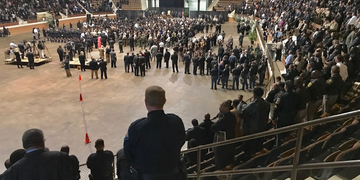 Lowndes County Sheriff John Williams remembered in emotional funeral service