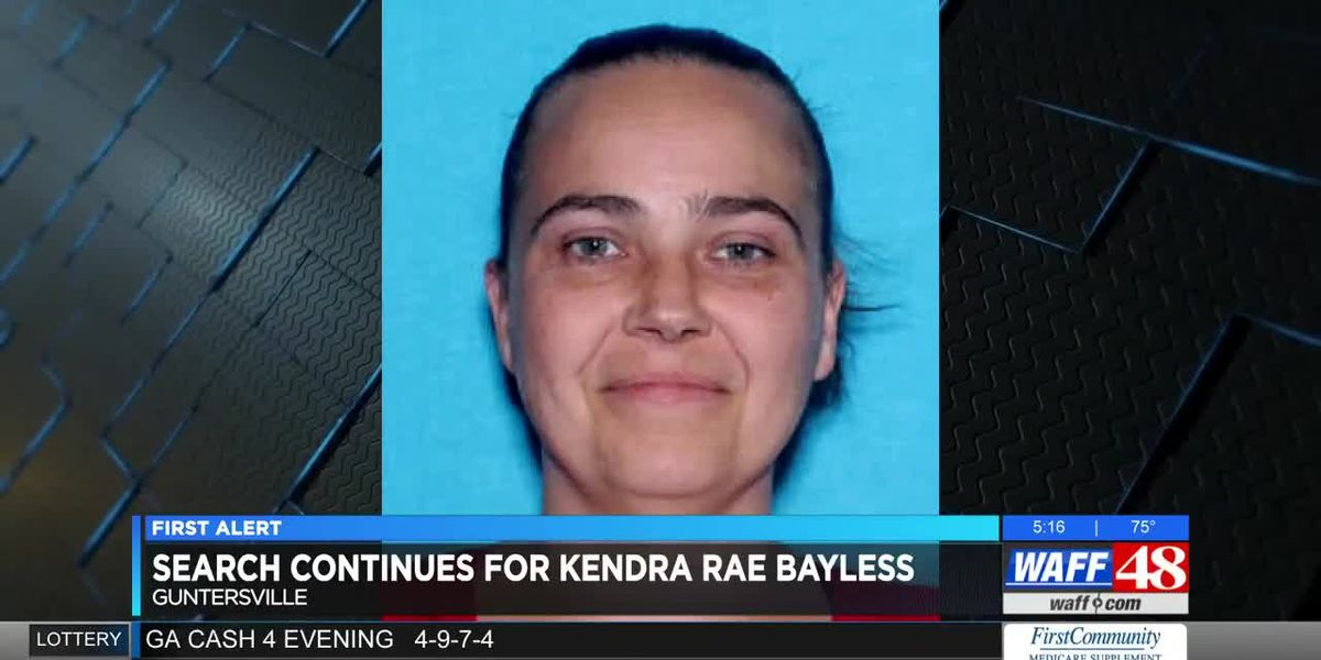 Search continues for Kendra Bayless