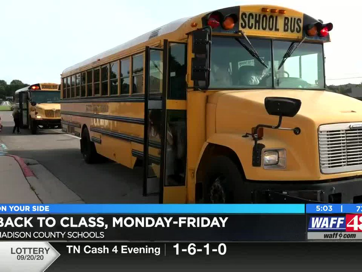 Madison County Students head back to the Classroom