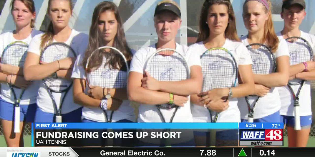 UAH tennis program officially cut