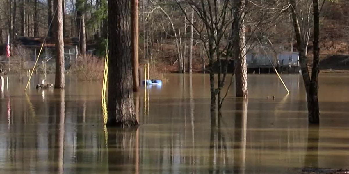 Several roads flooded across the Tennessee Valley; more rain expected this week