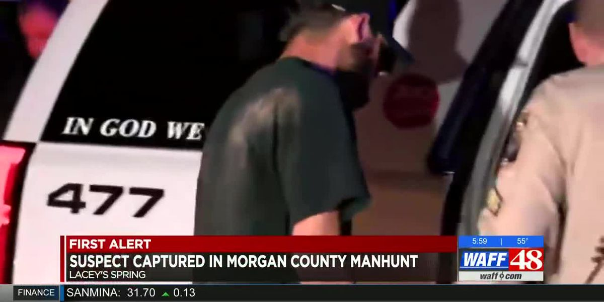 Morgan County child abuse suspect captured