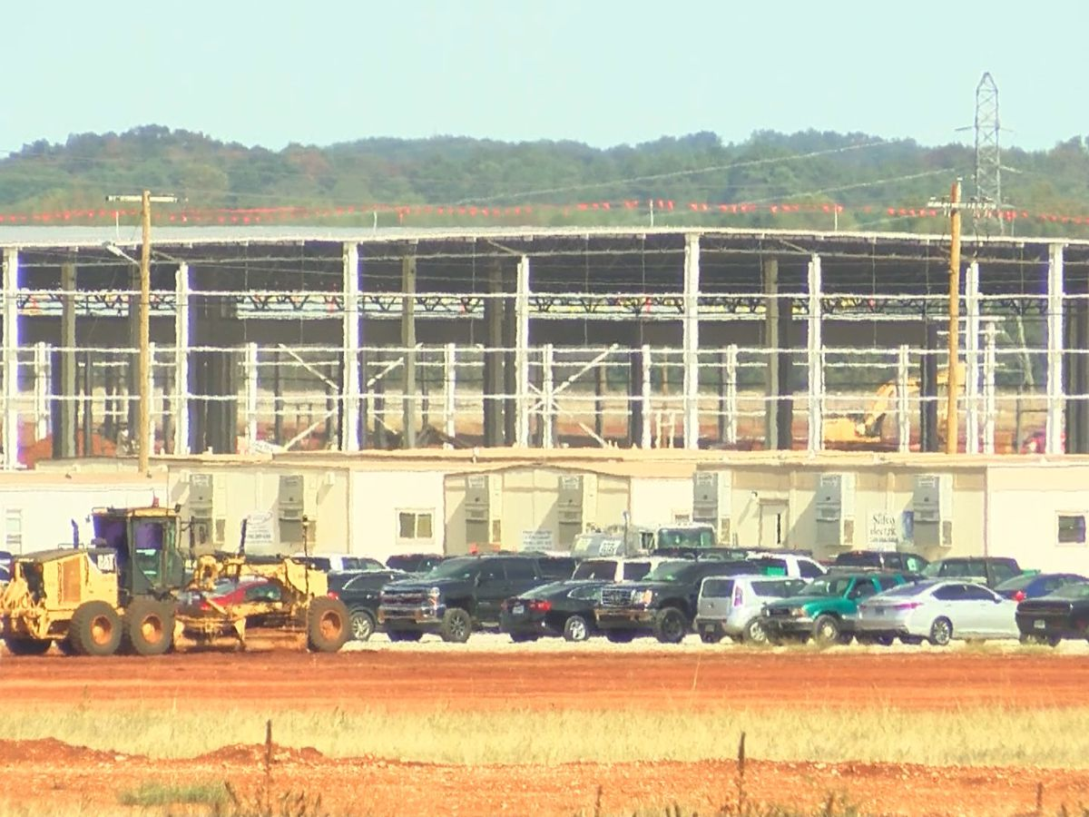Huntsville's Mazda Toyota manufacturing plant construction update