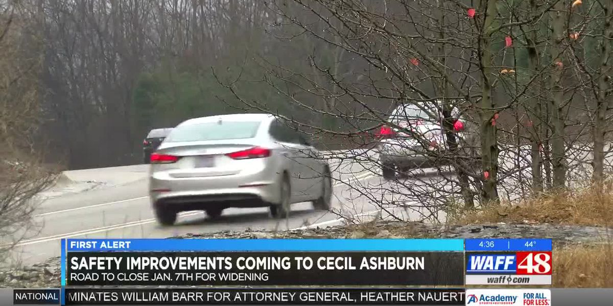 Safety improvements for Cecil Ashburn Drive