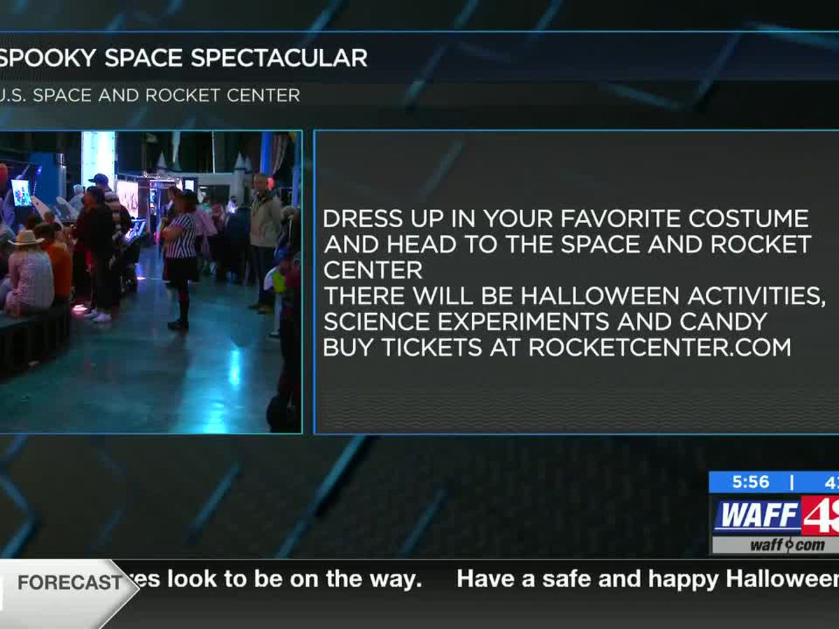 U.S. Space and Rocket Center hosting Spooky Space Spectacular!