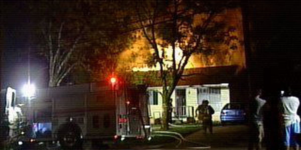 Family of four burned out of their home