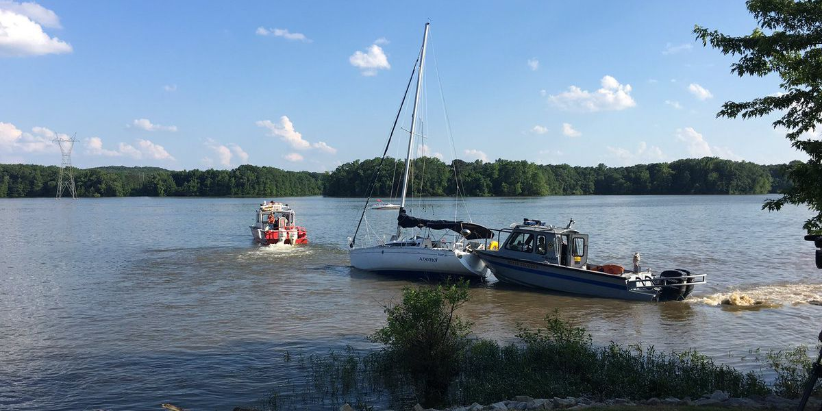 Child critical after boat hits power line, catches fire on Tennessee River