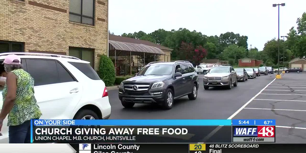 Huntsville church giving away free food Saturday