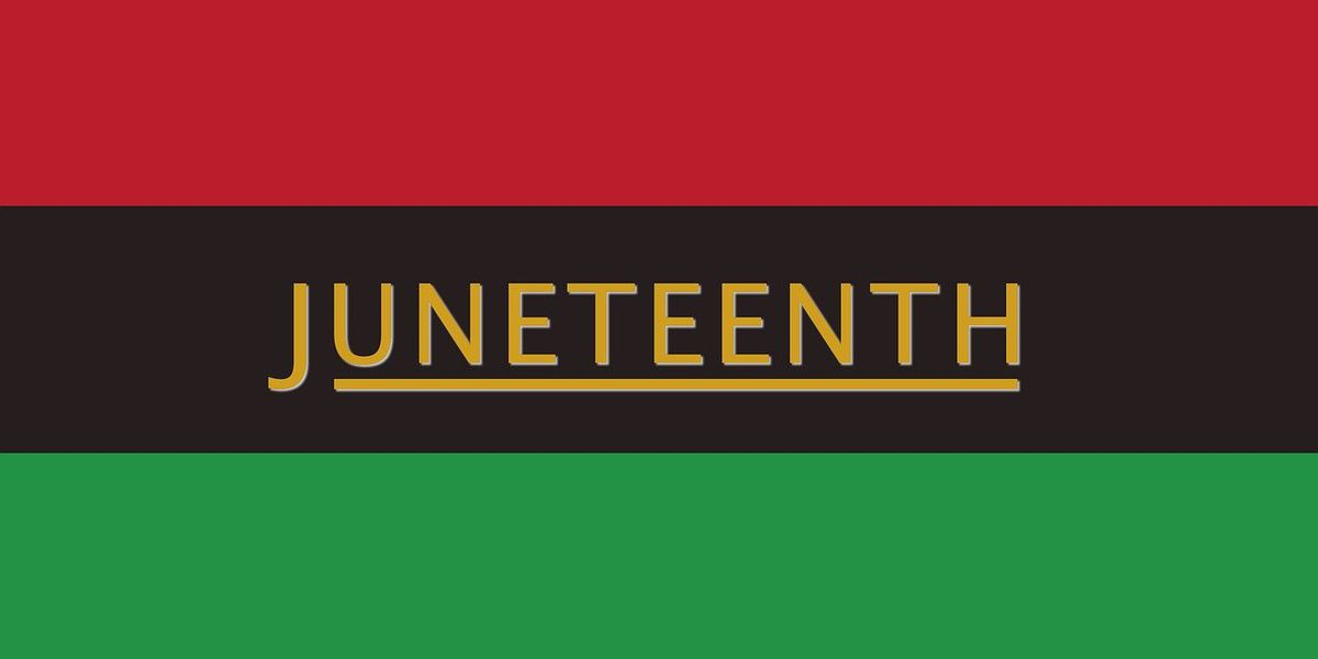 Juneteenth celebration happening today at Campus 805