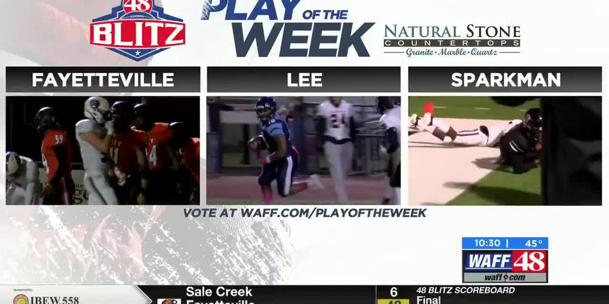 48 Blitz Week 10 Play of the Week