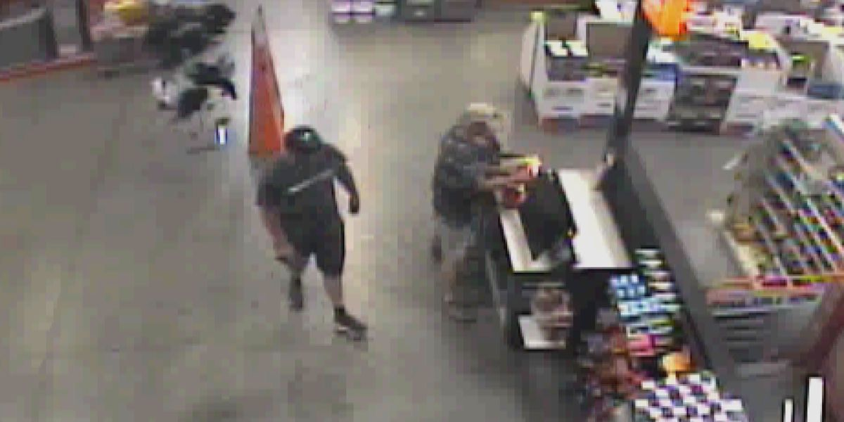 Crime Stoppers: Shoppers steal wallet from checkout at Huntsville Home Depot