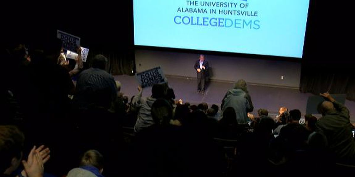Senate candidate Doug Jones talks unity, college costs, health care at UAH